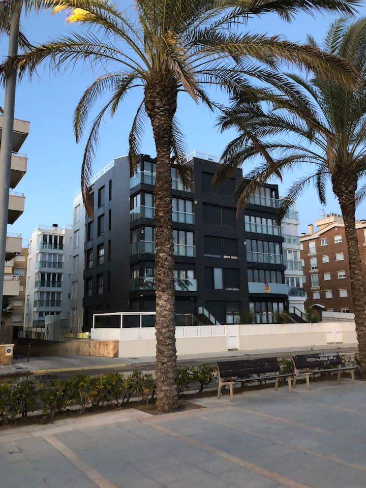 Apartamento en Calafell en primera línea de mar
