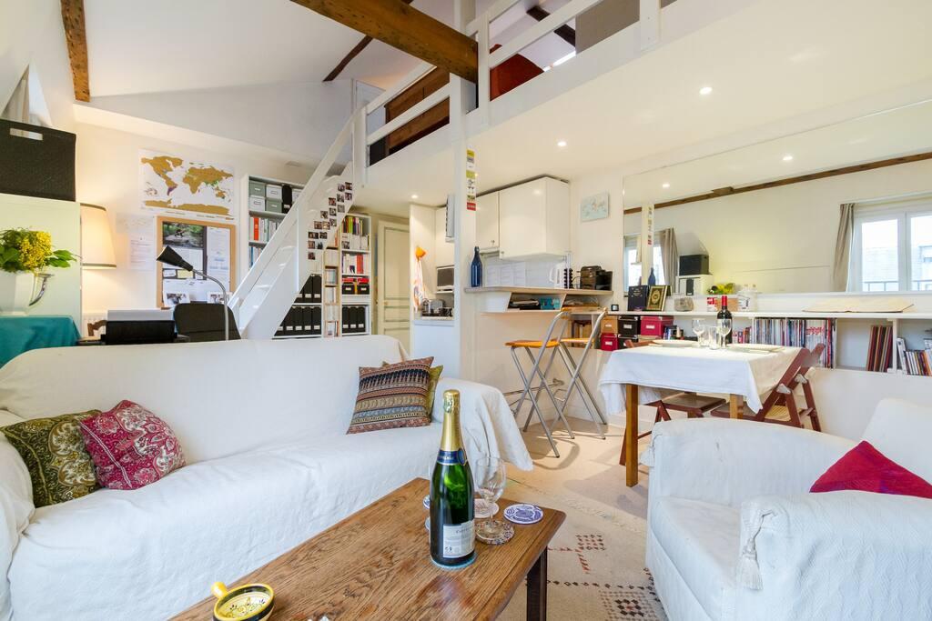 Montparnasse flat great location wohnungen zur miete in paris le de fra - Airbnb paris montparnasse ...