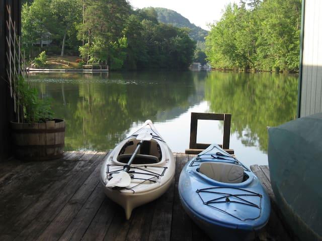 Floating Bamboo Cottage
