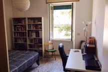 Nice room on Caffarella, Appia and San Giovanni