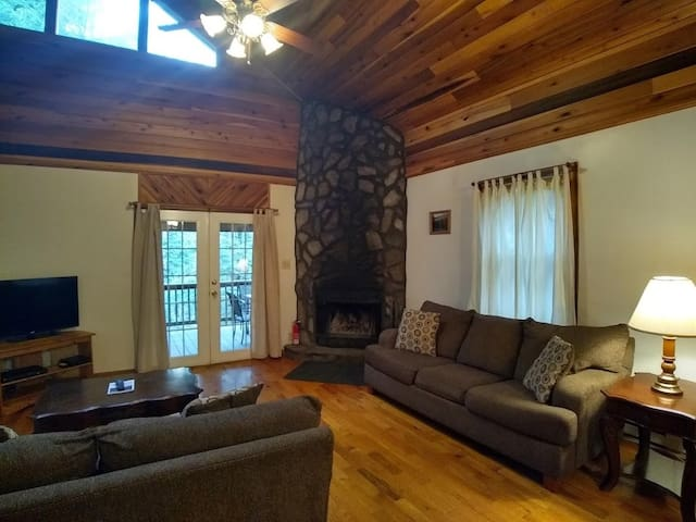 Blue Spruce Living Area