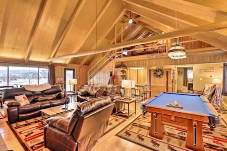 Centennial Cabin w/Hot Tub, Sauna, Pool Table