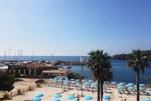 nearest beach: port de la figueriette