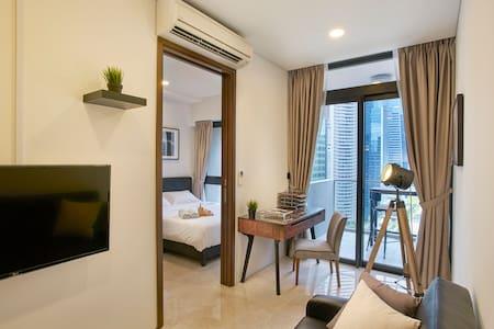 Luxury City 1 Bedroom | Raffles MRT - Singapore