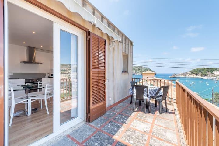 Acogedora propiedad con increibles vistas al mar