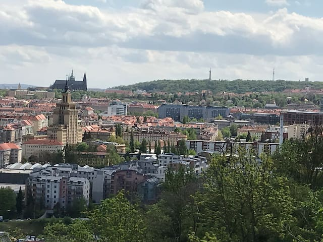 ⭐️HOUSE with view on Prague castle