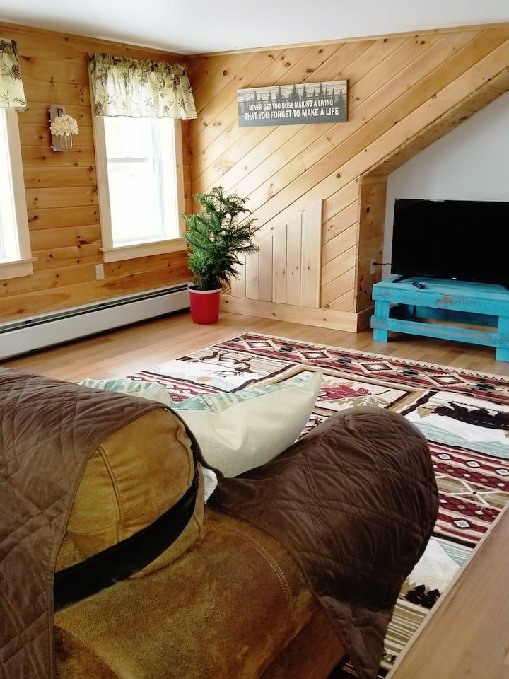Clean and cozy studio