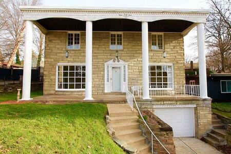 Centrally located quiet room in N Squirrel Hill 2 - Pittsburgh - Dům