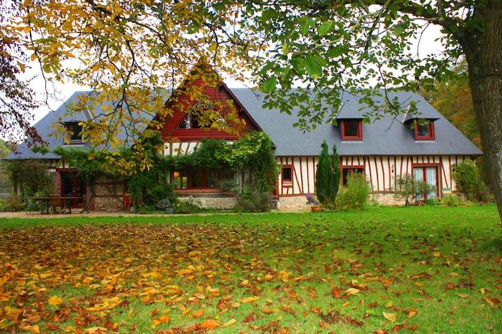 Maison Normande dans un environnement exceptionnel - Touffreville-la-Corbeline - 一軒家