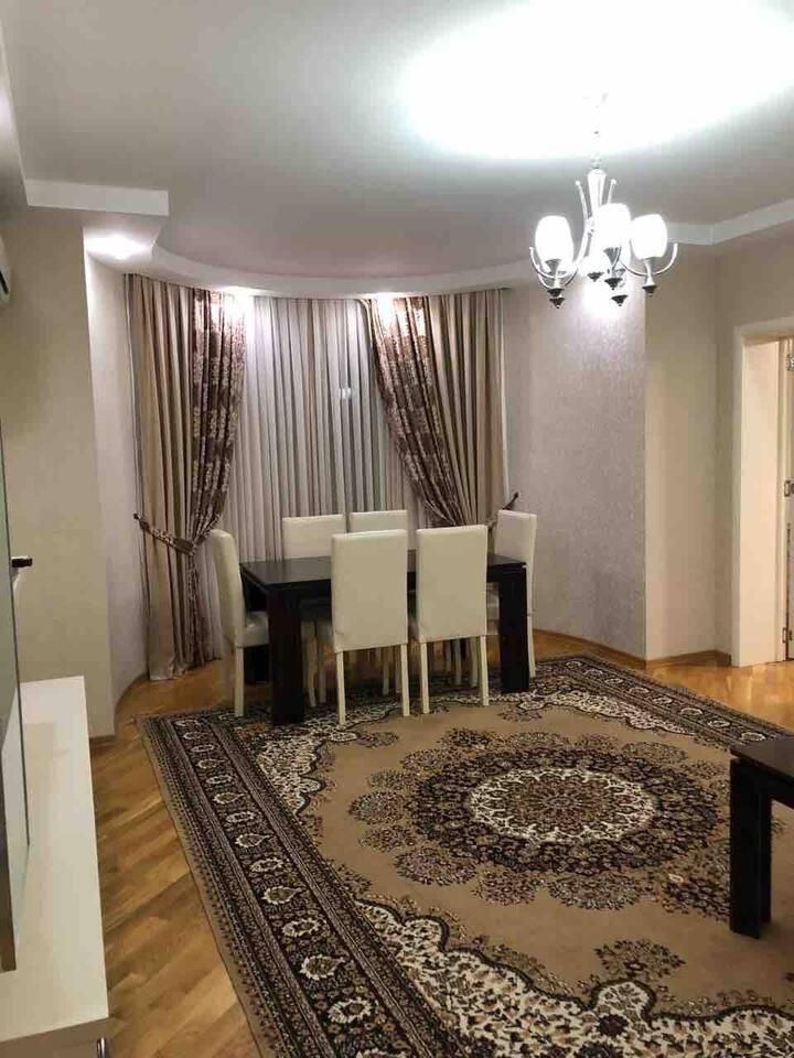 квартира посуточно в центре  Баку вип