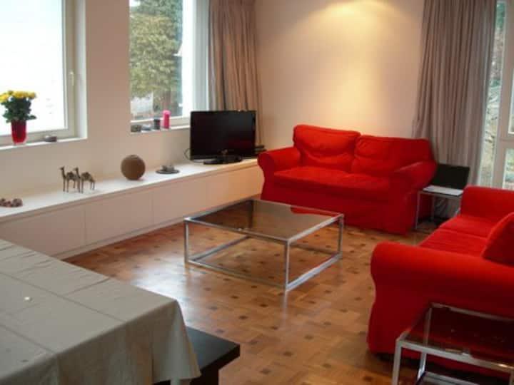 Août à Bruxelles? Maison meublée