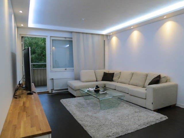 2 Room apartment, 8 min to city!