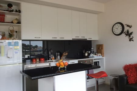 Quay apartment overlooks marina - Bellerive - Huoneisto