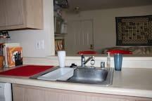 Kitchen Sink with Disposal