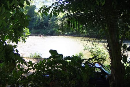 River view Beach Container Apt. w/ A/C - Dominical, Costa Rica