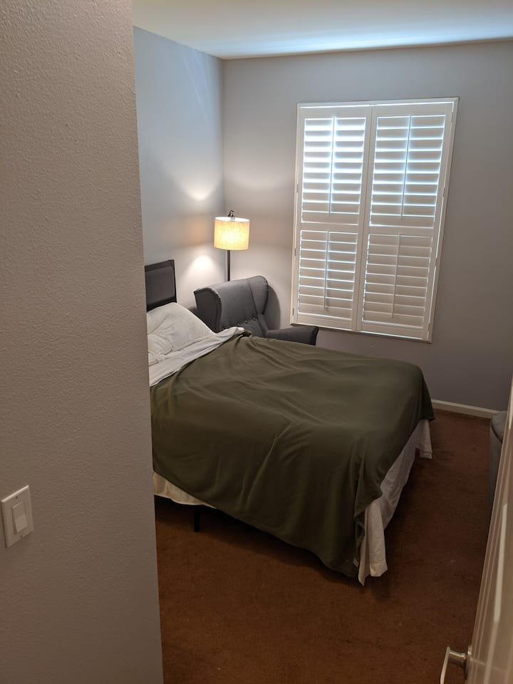 Guest Bedroom with Private Bathroom