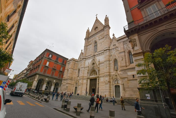 BEHIND THE DUOMO