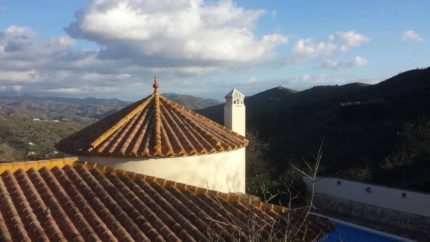 Uniek uitzicht top woning Malaga !  - vinuela - Huis