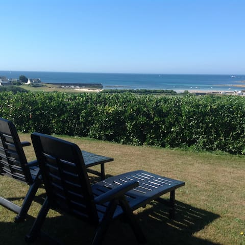 Maison moderne avec vue mer - Primelin