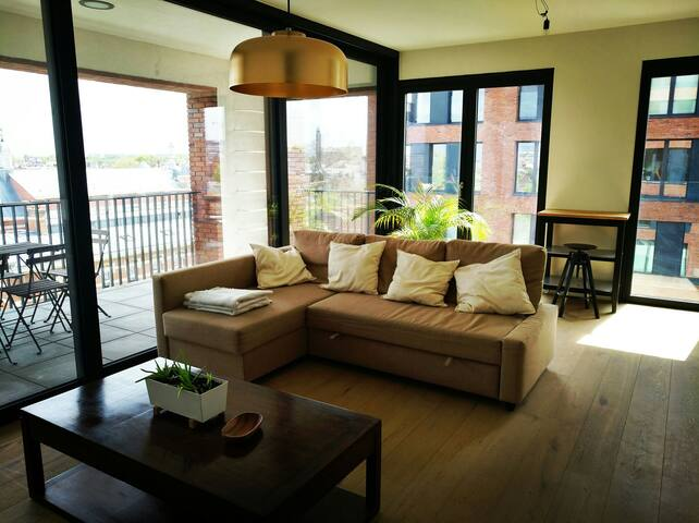 Amazing view apartment. New & Clean - Anvers - Appartement