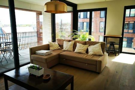 Amazing view apartment. New & Clean - แอนต์เวิร์ป - อพาร์ทเมนท์