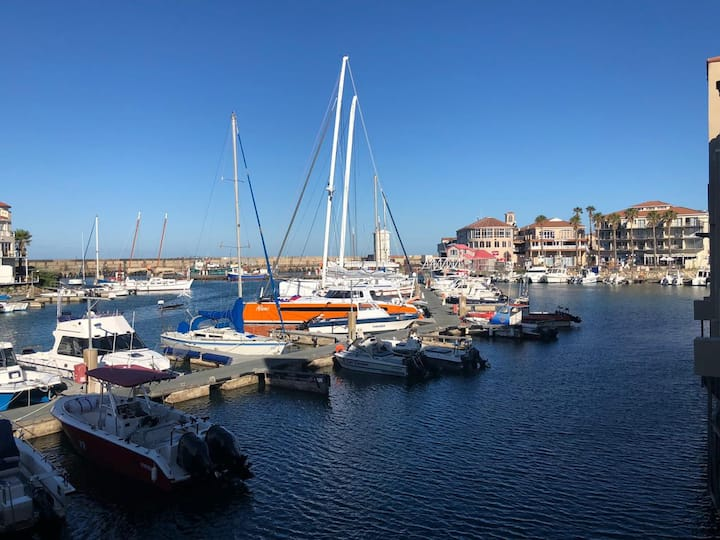 St Francis Bay, luxury upmarket harbour Apartment.