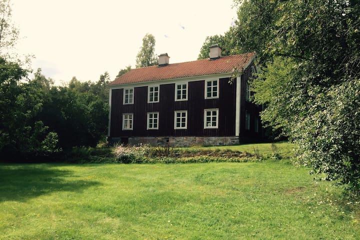 Semesterbostad på Långrådna Kultur & Gästgiveri