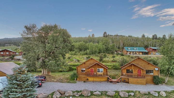 Cozy Cabin 4, Lake View near Yellowstone Sleeps 8