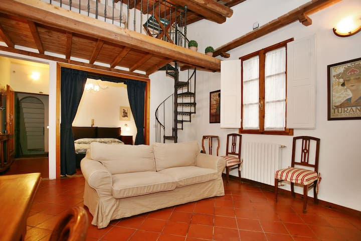 Charming Loft historic centre - close SMN station - Florencia - Loft
