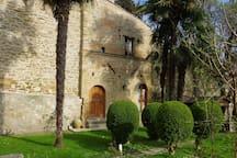 Nel giardino dell'Antica Torre