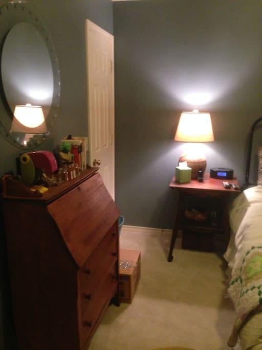 plenty of room and closet space