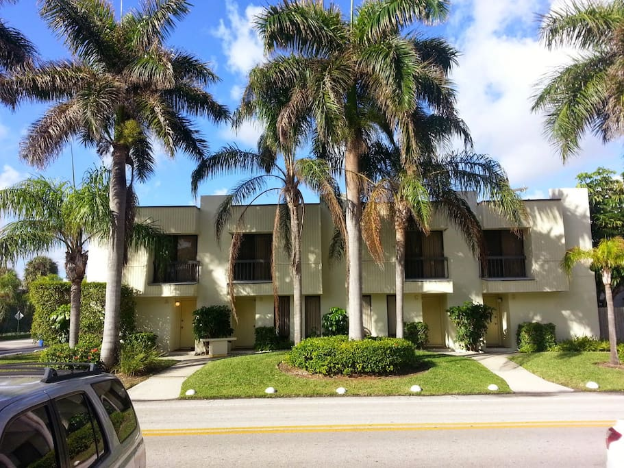 Located just a few steps from the beach!