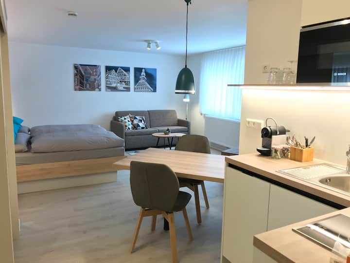 BLEIBE... für länger! Neues Studio-Apartment