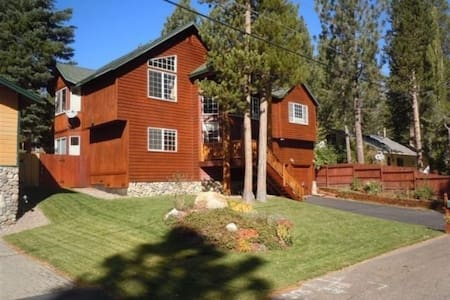 Secluded Luxury home, NEWLY DONE - South Lake Tahoe