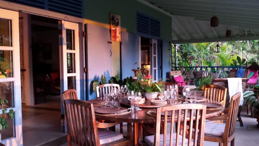 Harmony Villa in the Heart of Dominica - St Joseph - Villa