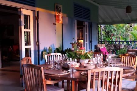 Unique Dominican Paradise Villa - St Joseph - วิลล่า