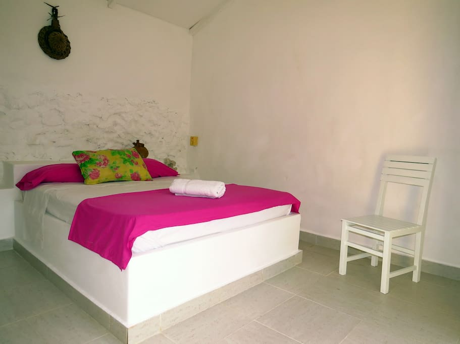 Inside one of our cabañas
