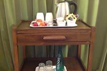 Tea,coffee and refreshments