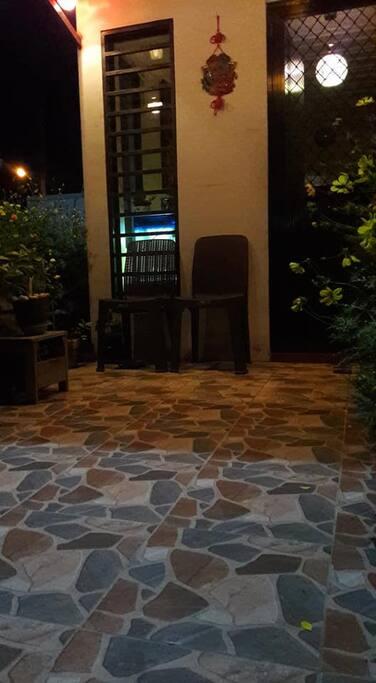 IYA'S HOUSE BY NIGHT