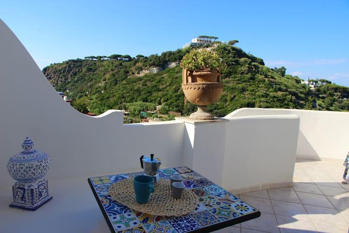 Villa Izzo-panoramico Suite Sirena-Lacco Ameno
