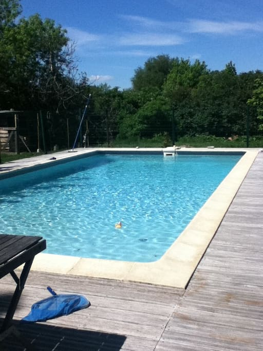 Maison de caractere avec piscine case in affitto a for Piscine 5x10