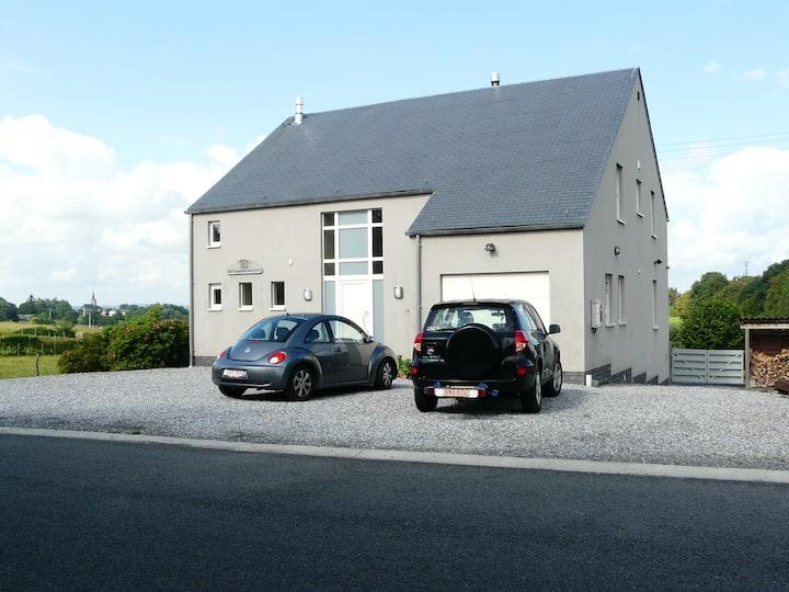 house with a stunning vieuw