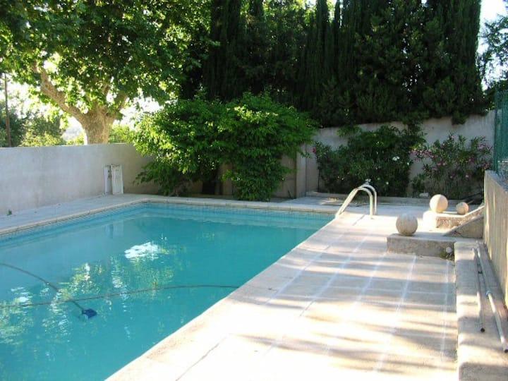 Grande maison familiale à Aix avec Piscine
