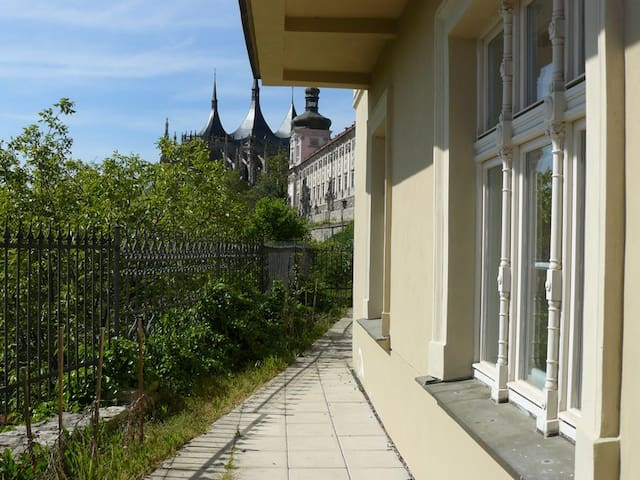 Apartment near St. Barbara Church - Kutná Hora - Appartement