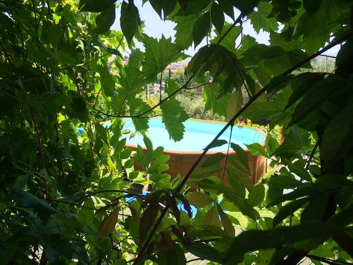 Appartamento vacanze nel verde_Blu Iris