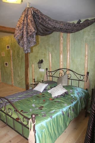 la chambre bambous - Muttersholtz - Bed & Breakfast