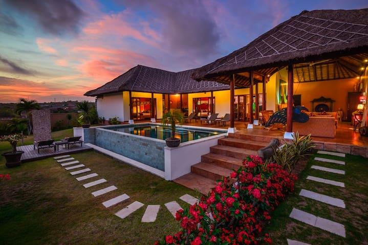 Villa Matahari - ungasan bali indonesie - Casa