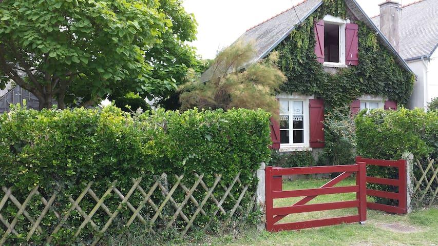 Maison de charme jardin 200m plage - Erquy - Casa