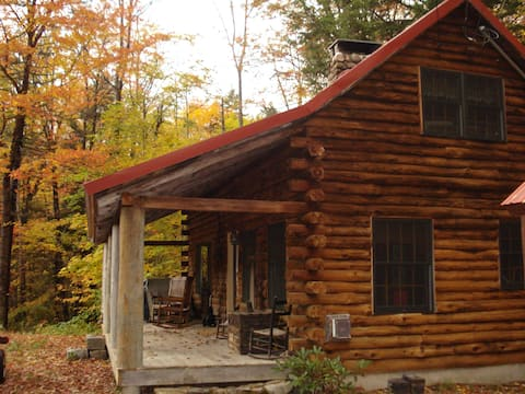 Romantic Log Cabin in Jackson NH