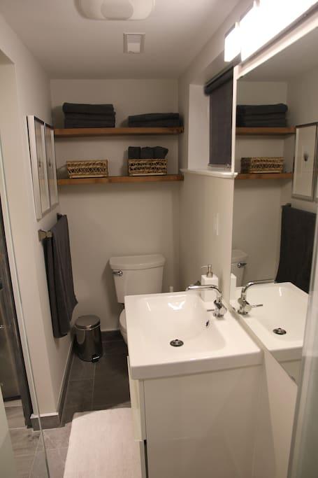 Bright Modern Washroom